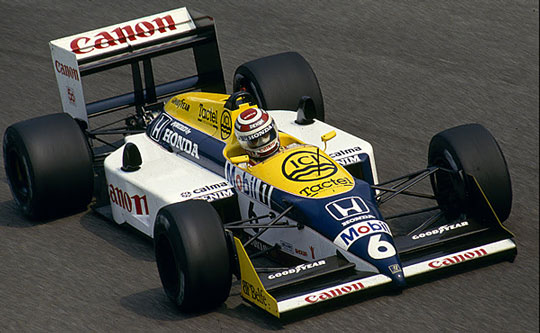 El dominante Williams FW11B-Honda turbo (Foto: picasaweb.google.com)